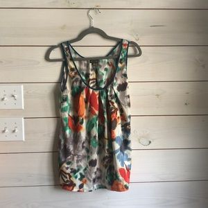 Anthropologie Fei silk tank medium